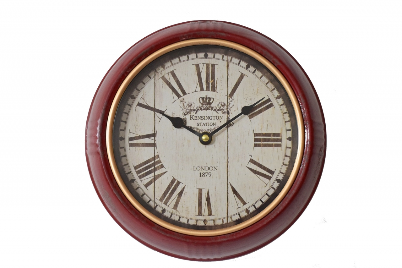 Kovové nástěnné hodiny LONDON 24,5 cm