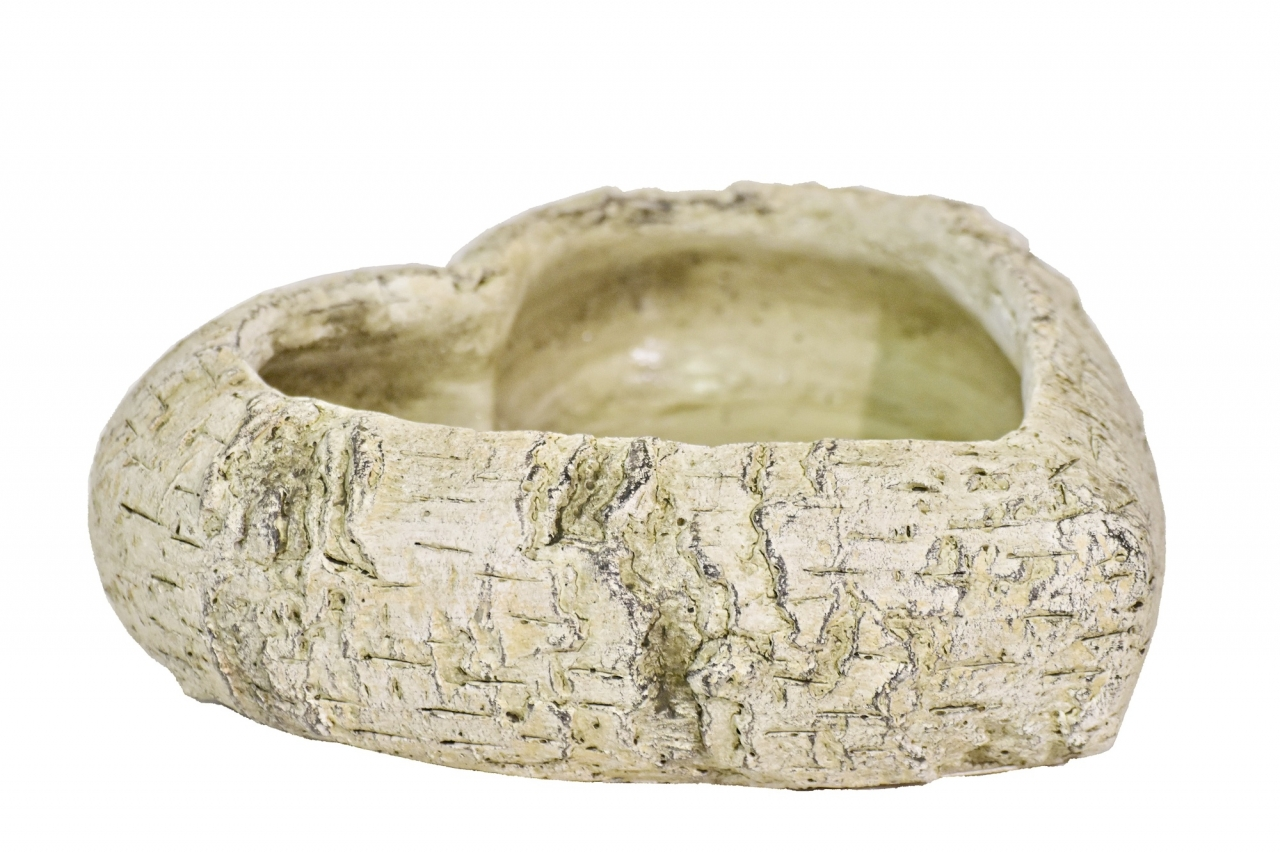 Cementové srdce Betula 7x23x23 cm
