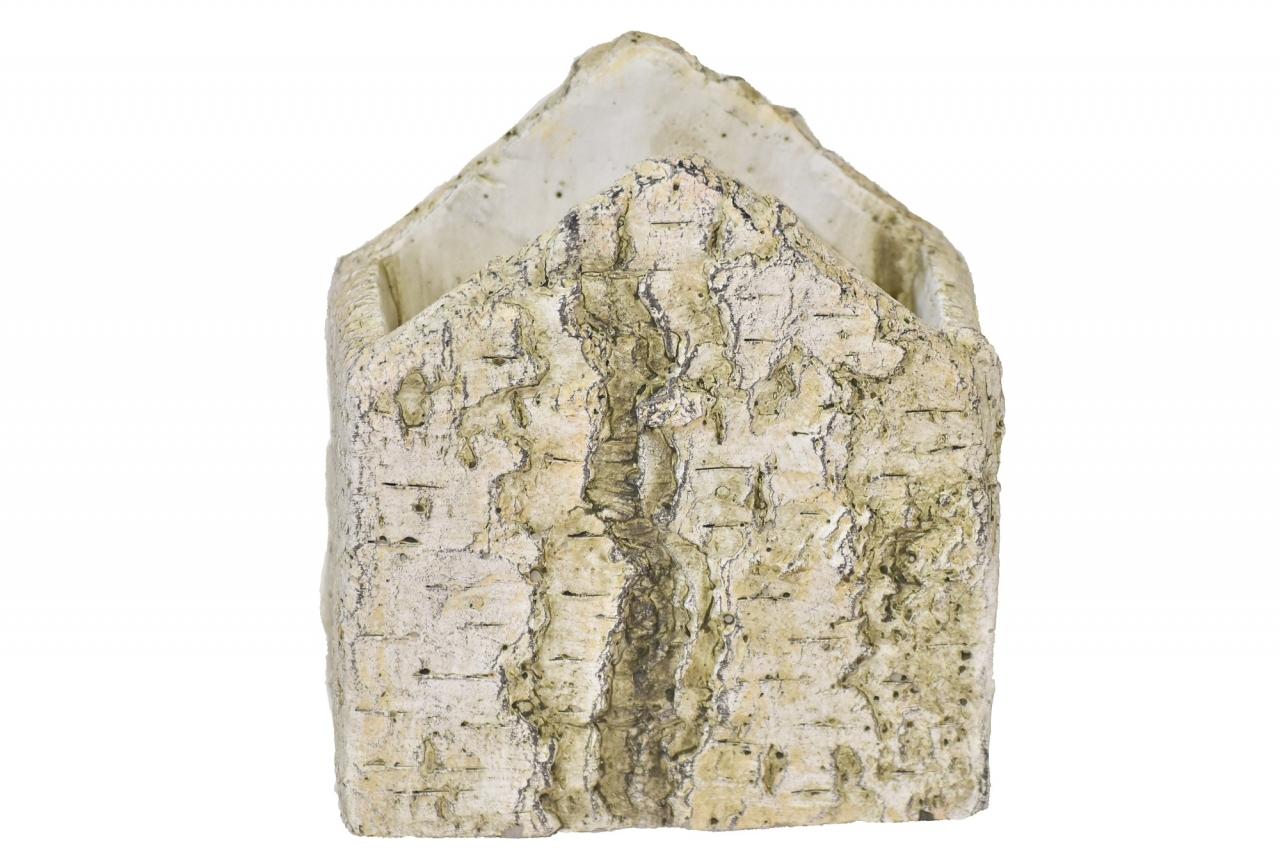 Cementový květináč Betula 17,5x15,5x10 cm