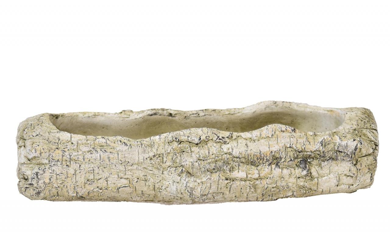 Cementový květináč-truhlík Betula 8x10,5x31,5 cm