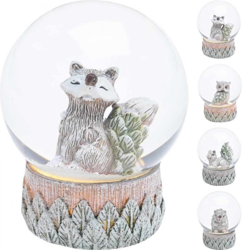 Sněžítko se zvířátky 6,5x4,5 cm, mix druhů