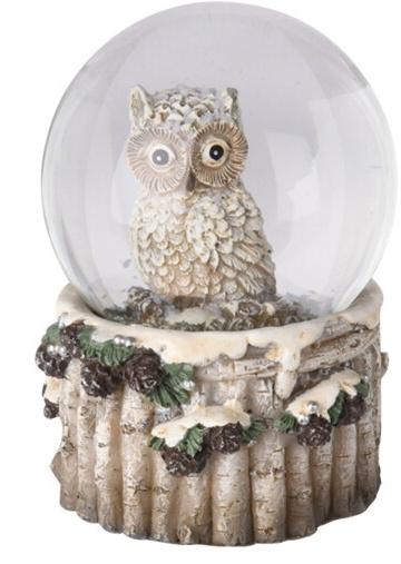 Sněžítko sova bílá 9x6,5 cm