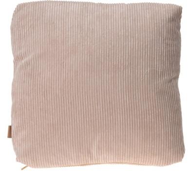 Krémový polštář Corduroy 42x42 cm