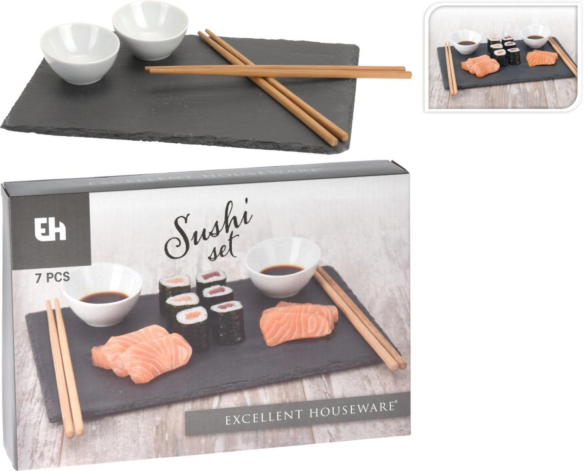 7 dílná sada na sushi