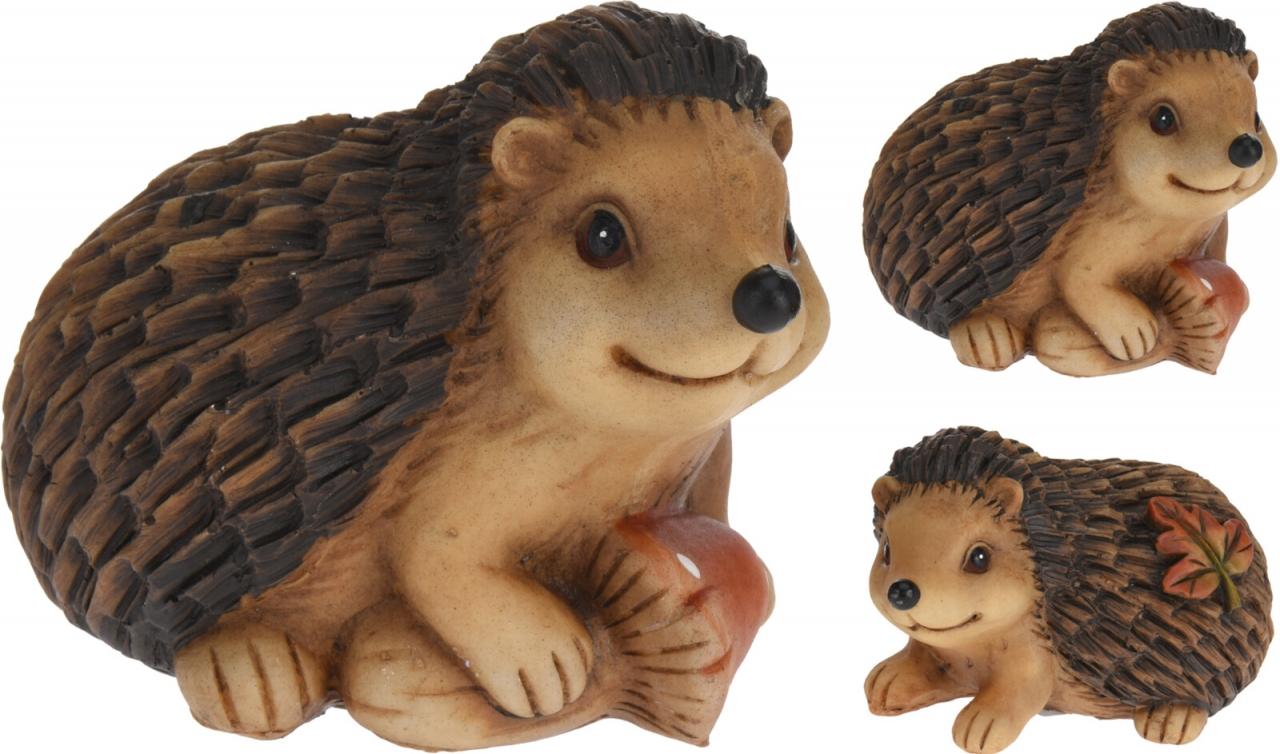 Dekorativní ježek 8,5x7,5x11,5 cm, mix druhů