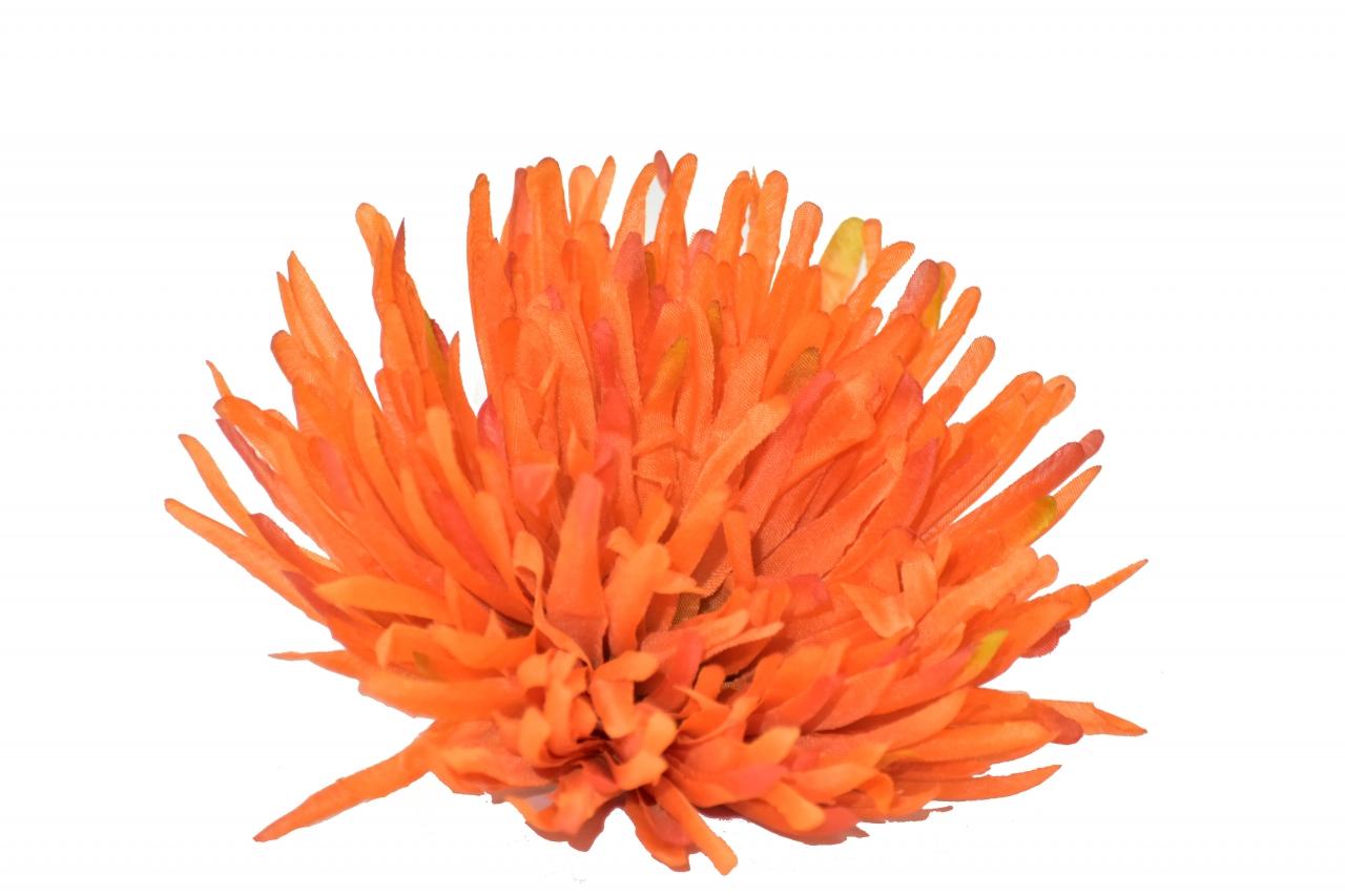 Vazbová jehlicová chryzantéma 15,5 cm, oranžová