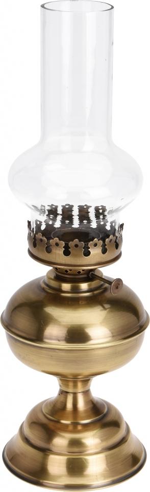 Lampa na čajovou svíčku Vintage 40 cm zlatá, II. jakost