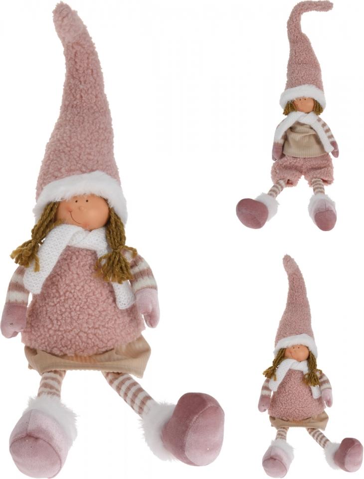 Látková figurka holka, kluk 67 cm