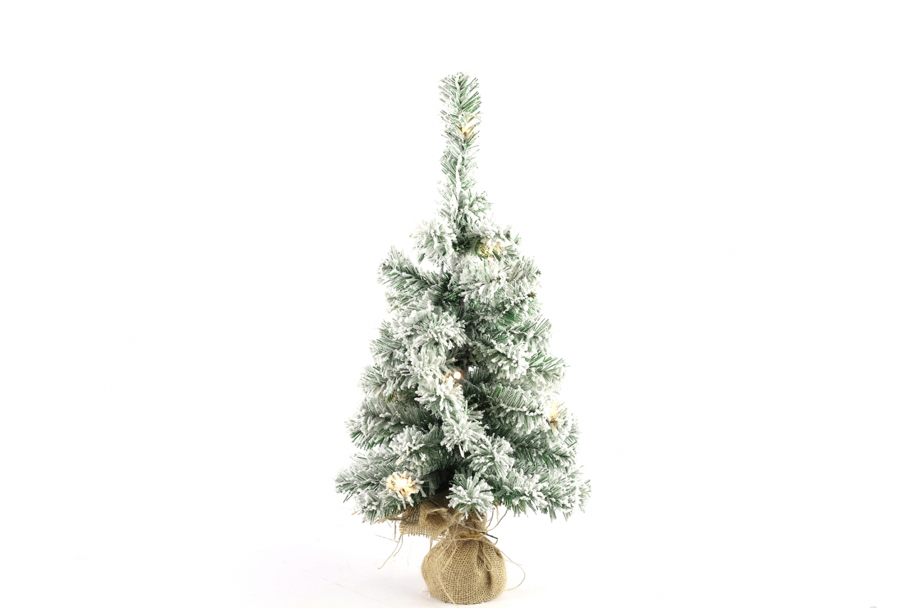 Umělý vánoční stromeček 60 cm s LED osvětlením