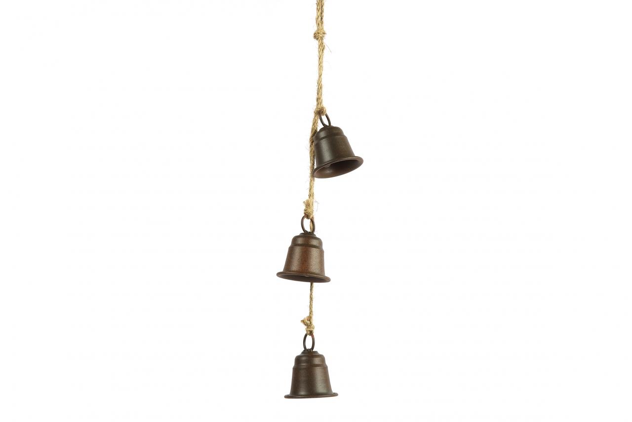 Kovové zvonky Graham s/3, rez, 53 cm