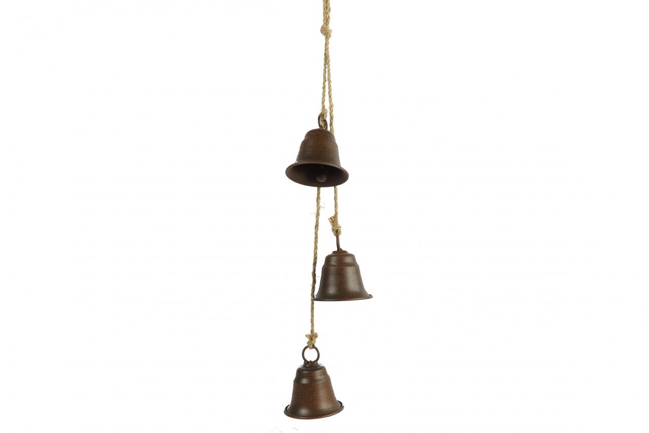 Kovové zvonky Graham s/3, rez, 60 cm