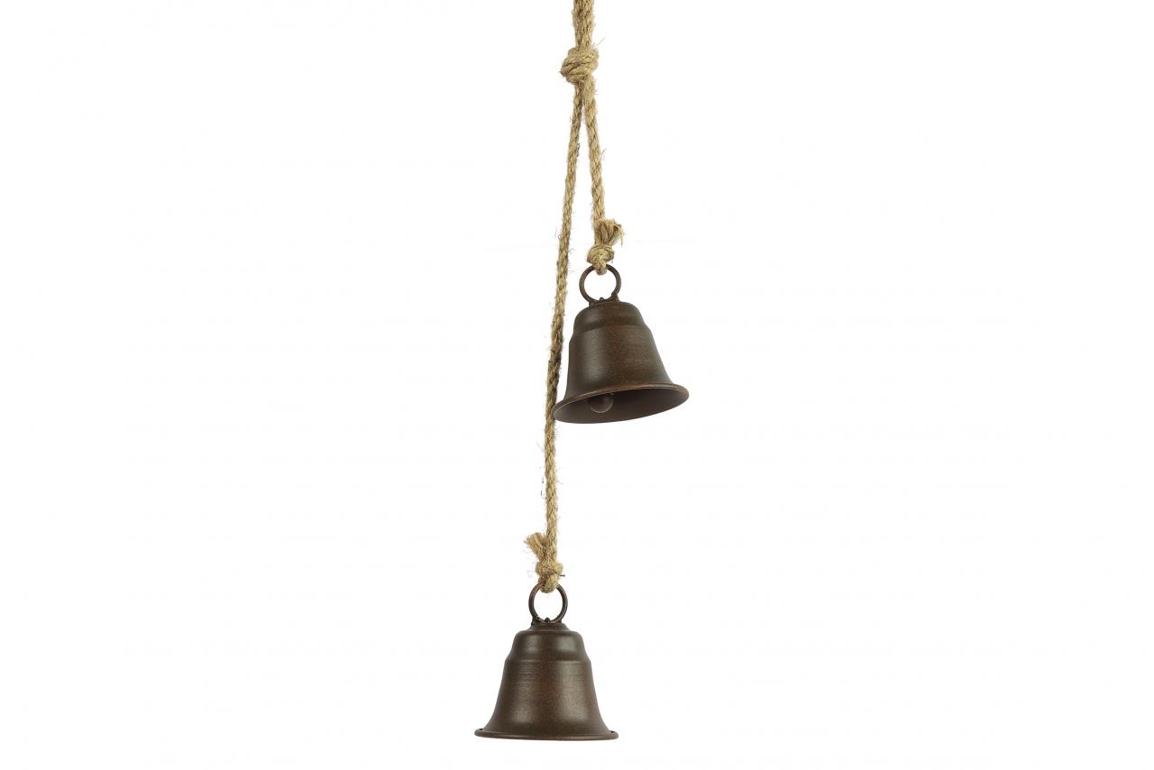 Kovové zvonky Graham s/2, rez, 51 cm